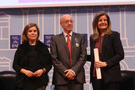 Tecnovino Pedro Vivanco medalla de oro al trabajo