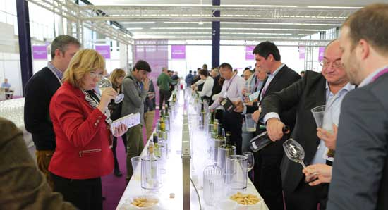Tecnovino World Bulk Wine Exhibition cata