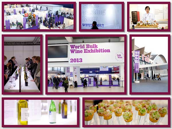 Tecnovino World Bulk Wine Exhibition montaje 1