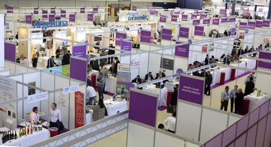 Tecnovino World Bulk Wine Exhibition stands