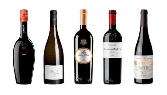Los cinco grandes vinos catados