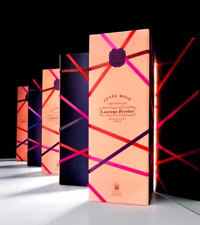 Tecnovino estuches de Laurent Perrier Navidad Cuvee Rose