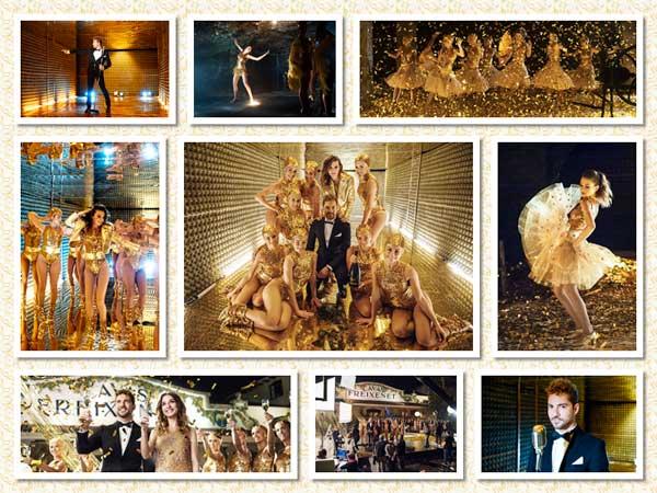 Tecnovino Freixenet 100 aniversario anuncio Navidad fotos