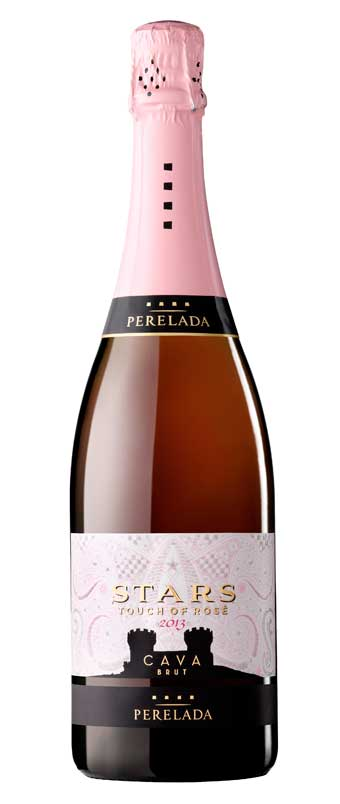 Tecnovino Stars Touch of Rose Brut Perelada