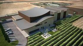 Comienza la construcción de la nueva bodega de Viñedos de Aldeanueva