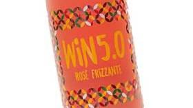 Win 5.0 Rosé, un vino frizzante rosado fresco y bajo en alcohol
