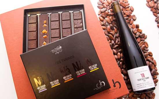 Tecnovino chocolates y vinos Abadia Retuerta Oriol Balaguer Tawny