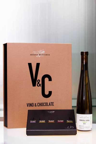 Tecnovino chocolates y vinos Abadia Retuerta Oriol Balaguer verdejo