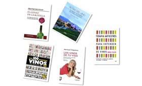 Tecnovino cinco libros sobre vino