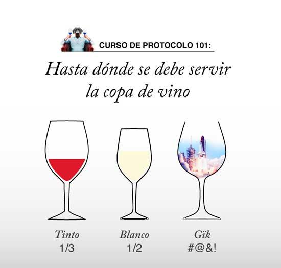 Tecnovino vino azul Gik cartel protocolo 1