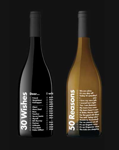 Tecnovino 50 Reasons y 30 Wishes vinos