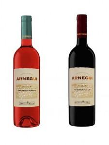 Tecnovino Arnegui rosado y tinto Pagos del Rey