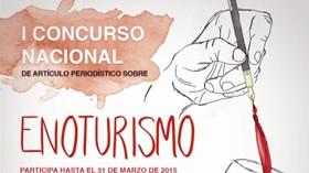 El I Concurso Nacional de artículos periodísticos sobre enoturismo, en marcha