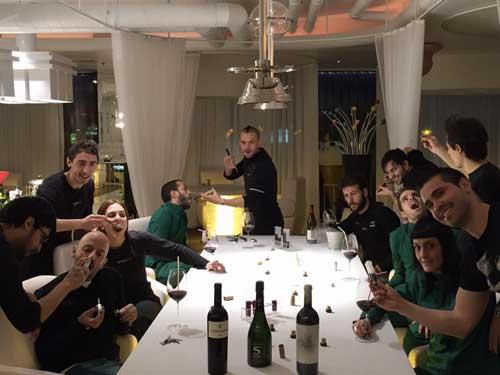 Tecnovino Enofusion y Madrid Fusion David Munoz 1