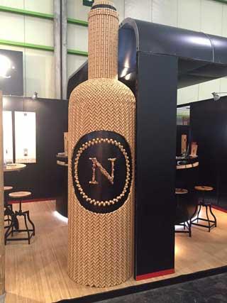 Tecnovino Nomarcorc botella tapones sinteticos