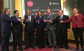 • Tecnovino presentación Senado Cumbre Internacional del Vino