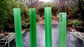 Un tubo protector de viñedo con múltiples ventajas