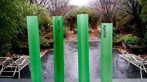 Tecnovino tubo protector de vinedo Innovatecnia