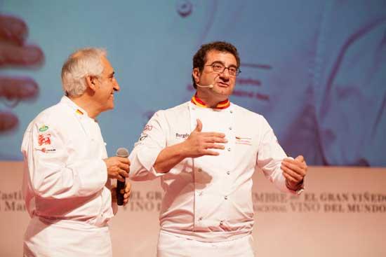 Tecnovino II Cumbre Internacional del Vino cocina