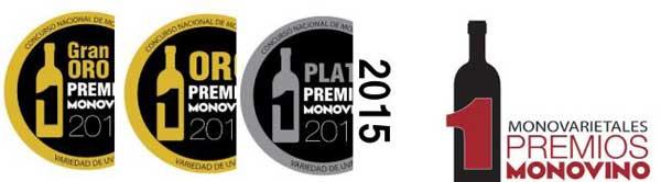 Tecnovino Premios Monovino 2015 medallas