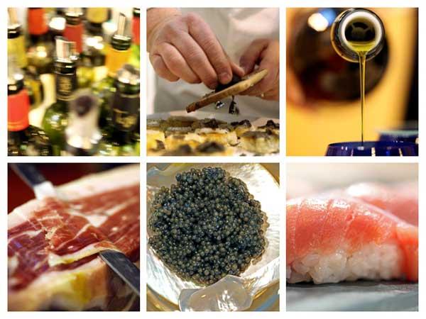 Tecnovino Salon de Gourmets 2015 collage