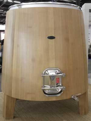 Tecnovino depositos para elaborar vino Taransaud