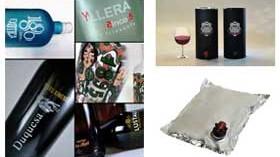 Tres soluciones en envases para vino
