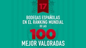 El top 100 mundial de bodegas está liderado por españolas