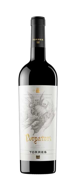 Tecnovino vino Purgatori Bodegas Torres botella