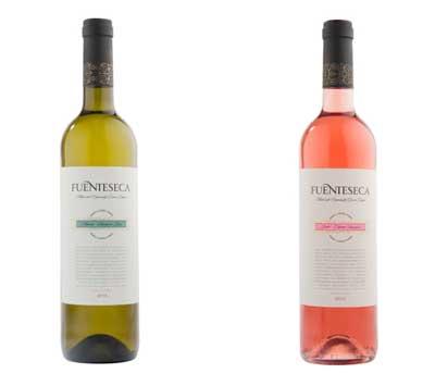 Tecnovino Fuenteseca blanco y rosado Bodega Sierra Norte