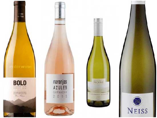 Tecnovino diez vinos Bodegas Arane blancos