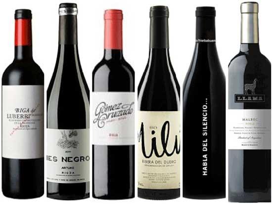 Tecnovino diez vinos Bodegas Arane tintos