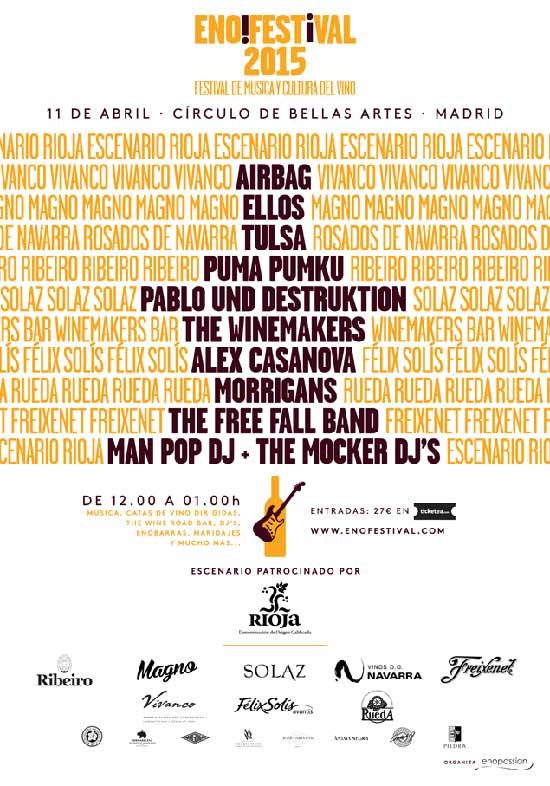 Tecnovino enofestival 2015 cartel