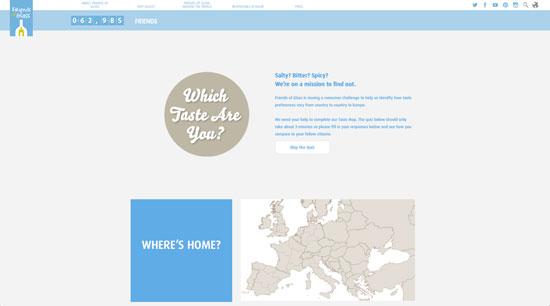 Tecnovino mapa de los sabores de Europa sumilleres