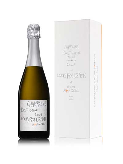 Tecnovino Louis Roederer Brut Nature 2006 by Philippe Starck