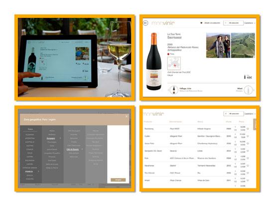 Tecnovino cartas de vino interactivas Monvinic 2