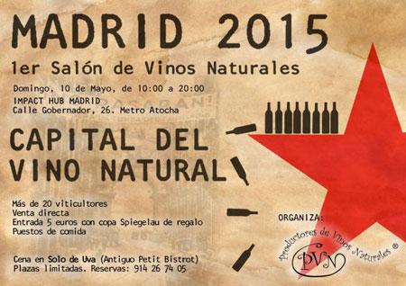 Tecnovino vinos naturales Madrid