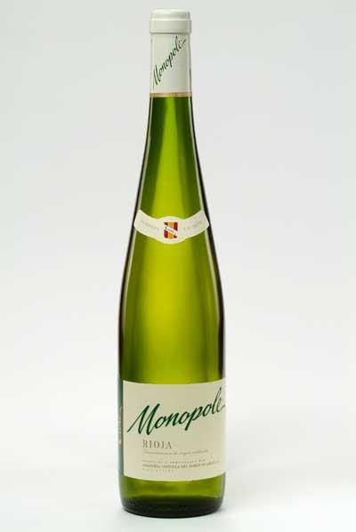 Tecnovino Monopole vino blanco CVNE