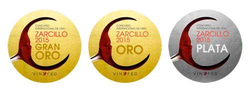 Tecnovino Premios Zarcillo 2015 medallas