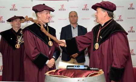 Tecnovino Tim Atkin cofrade de merito vino de Rioja