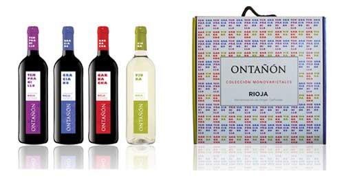 Tecnovino ontanon coleccion monovarietales vino