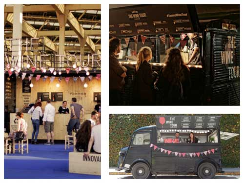 Tecnovino street food wine truck Bodegas Torres