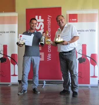 Tecnovino Experiencia Basf en Vina Catatalentos Cava 2015