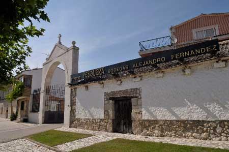 Tecnovino Ruta del Vino Ribera del Duero Bodega Pesquera