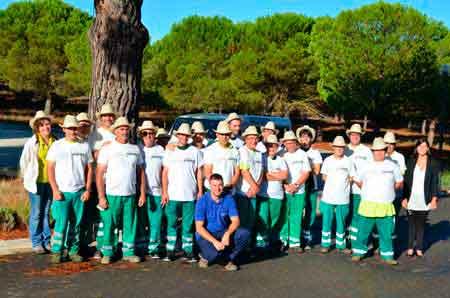 Tecnovino Vendimia Solidaria Abadia Retuerta Grupo Lince