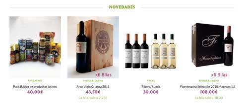 Tecnovino tienda online de vinos Disfruta Vino gama