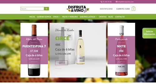 Tecnovino tienda online de vinos Disfruta Vino