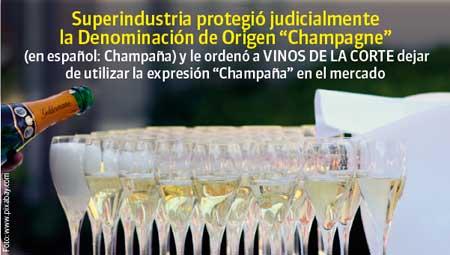 Tecnovino champana vinos Colombia SIC