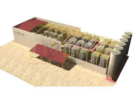 Tecnovino ingenieria BIM para bodegas 3