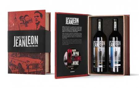 Tecnovino disenos para vino Liderpack 2015 Jean Leon